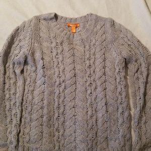 Joe Fresh Grey Sweater size Medium